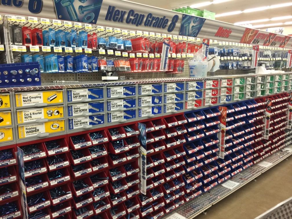 Hardware aisle